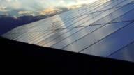 HD impianto solare al Sunset Time Lapse (4:2: 2 a 100 Mb/s)