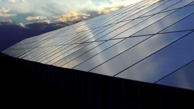 HD-Solar Pflanze bei Sonnenuntergang Zeitraffer (4:2: 2 @100 Mbit/s)