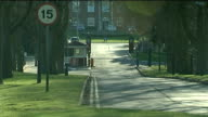 Soldier found murdered at barracks named by police ENGLAND Shropshire RAF Ternhill Clive Barracks EXT GV Entrance to RAF Tern Hill GV Sign '1st...