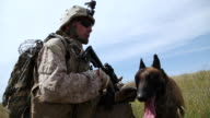 MS Soldier talking about dog AUDIO / Camp Pendleton, CA, United States