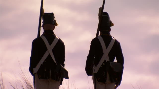 Soldiers at Fort McHenry