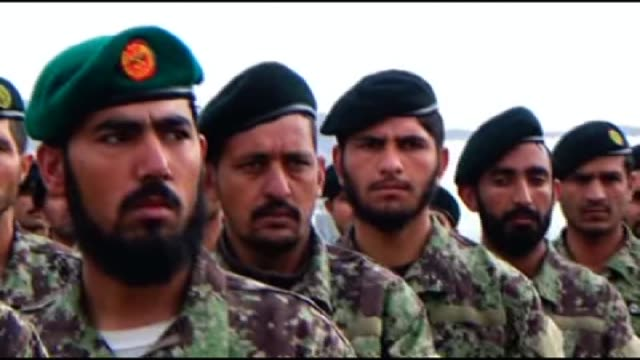 Soldiers belonging to a Special Forces unit created to fight against Daesh terror organization are seen in Nangarhar Afghanistan on January 06 2016