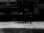 Soldiers Breaking Horses