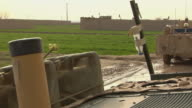Soldiers in armored vehicle / Mausa Qala Helmand Province Afghanistan