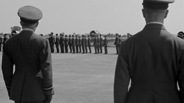 MS Soldiers in Uniform in marching in formation