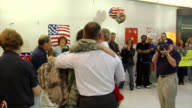 Soldiers Return Home from Iraq and Afghanistan on March 21 2012 in Baltimore MD