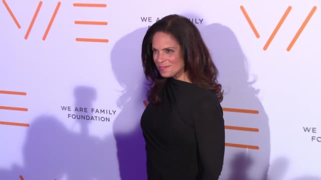 Soledad O'Brien at We Are Family Foundation 2016 Celebration Gala at Hammerstein Ballroom on April 29 2016 in New York City