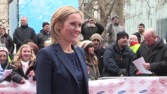 Sophie Raworth at Celebrity Video Sightings on March 26 2013 in London England