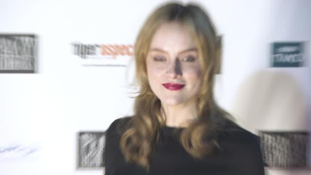 Sophie Rundle at 'Peaky Blinders' Birmingham premiere at cineworld on October 30 2017 in Birmingham England