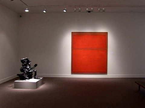 Sotheby's and Christie's begin their Spring art auctions this week New York New York United States