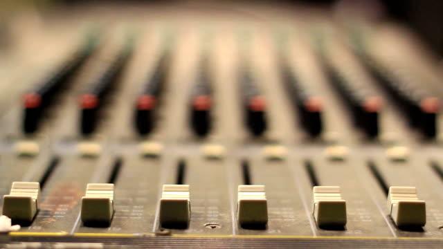 Sound Mixing Desk