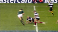 South Africa gain control of the ball after knockon by Mitchell Barbarians v Springboks 4th December 2010 Available in HD
