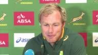 South Africa take on New Zealand in Saturday's Rugby Championship match a week after losing to Australia 2420