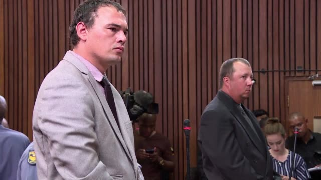 A South African judge on Friday handed down jail terms of 19 and 16 years to two white farmers who filmed themselves forcing a black man into a...