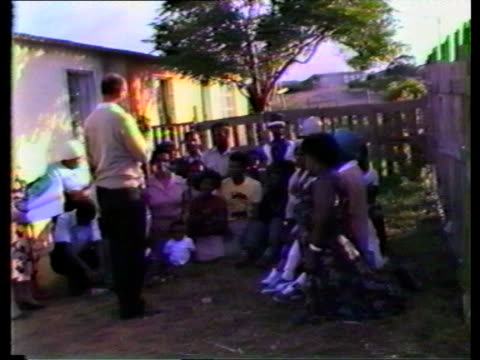 South African political attitudes becoming increasingly polarized Soweto 2 SHOT Stone Sizani towardsCMS STONE SIZANI INTVW SOF'If we are...