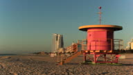 South Beach lifeguard huts