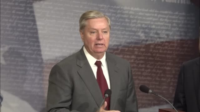 South Carolina Senator Lindsey Graham calls it a red letter day for the Senate and the Foreign Relations Committee on reporting a bipartisan bill...