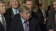 South Carolina Senator Lindsey Graham is asked about prospects for healthcare under his bill cosponsored with Louisiana Senator Bill Cassidy Graham...
