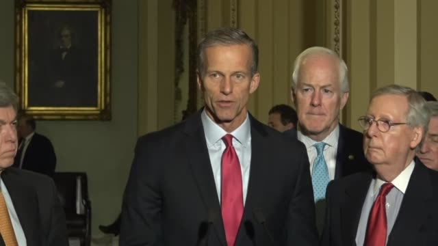 South Dakota Senator John Thune says at a weekly briefing that tax reform is about middleclass families Despite what had been heard from Democrats so...