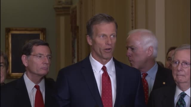 South Dakota Senator John Thune tells reporters that he expects President Obama to present a distorted view of reality different from who has been...