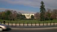 WS South lawn to white house / Washington D.C., United States