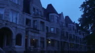 WS South Side greystone apartments night