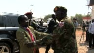 South Sudanese Vice President James Wani Igga paid a visit Sunday to a military hospital in Juba which houses nearly a thousand people injured in...