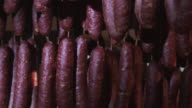 South tyrolean specialty, smoked sausages