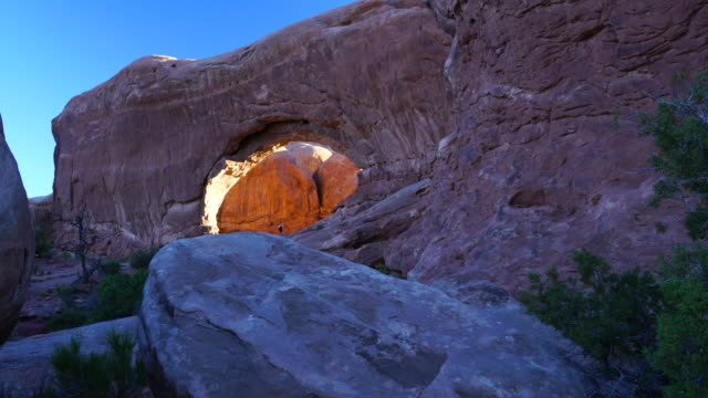 South window, Arches National Park, Utah, Usa, North America, America