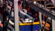 Southampton Containerhafen-Luftaufnahme-England, Hampshire, Vereinigtes Königreich