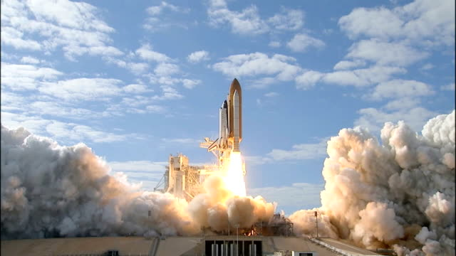 Space Shuttle Atlantis launches from Kennedy Space Center on the STS129 mission to deliver supplies and equipment to the International Space Station...