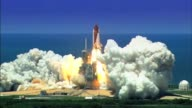 Space Shuttle Atlantis launches on mission STS125 to repair and upgrade the Hubble Space Telescope with two new instruments the Cosmic Origins...