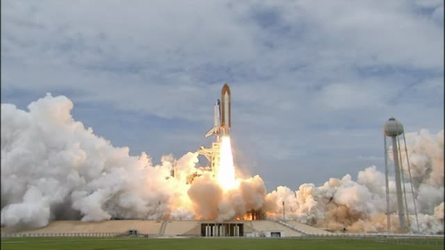 Space Shuttle Atlantis launches on the final mission of the American Space Shuttle program delivering supplies to the International Space Station...