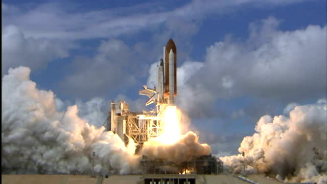Space Shuttle Discovery launches on STS120 mission to the International Space Station to deliver the Harmony module and reconfigure a portion of the...