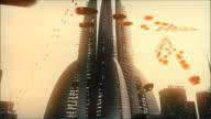 Raum Techno City 3 HD-Loop