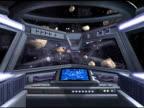 Raumschiffen Cockpit