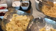 Spaghetti and pasta time , Bangkok , Thailand
