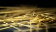 Spaghetti Pasta Falling Down