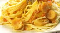 4K : Spaghetti with sausage
