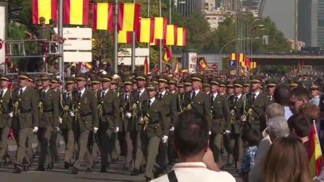 Spain celebrates its national day on Thursday with a show of unity in the face of Catalan independence efforts a day after the central government...