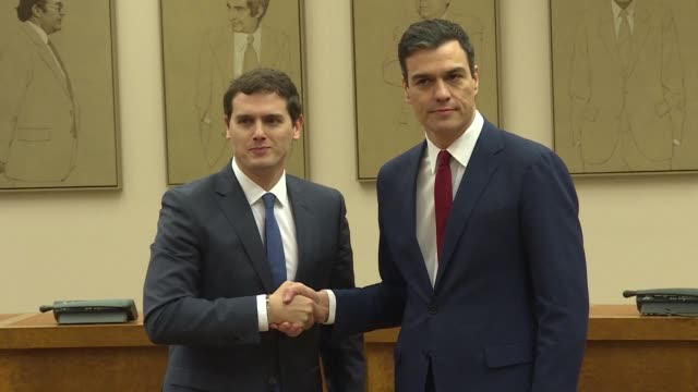 Spain's Socialists racing to try and form a coalition government following inconclusive elections have obtained their first pledge of support after...