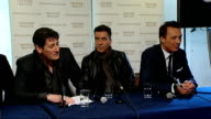 Spandau Ballet press conference Band take questions from journalists SOT Time is a great healer Told Shane Ritchie that we'd get back for our 30th...