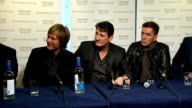 Spandau Ballet press conference We could do a private gig We hadn't been in a room together in 18 years We did it in bits and pieces Wanted to create...