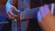 CU Spanish guitar player