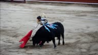 Spanish matador Juan Jose Padilla who was blinded in one eye by a goring in 2011 won the acclaim of the audience in Cali Colombia where he showed his...