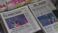 Spanish press react to the first round of the French presidential election that saw centrist Emmanuel Macron and farright leader Marine Le Pen go...