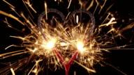 Sparkler Heart HD