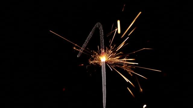 Sparkler Number 1 Close Up HD (2014)