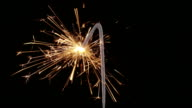 Sparkler Number One Close Up HD (2014)
