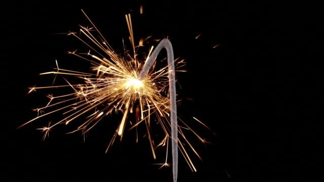 Sparkler Number One Close Up HD (2014)
